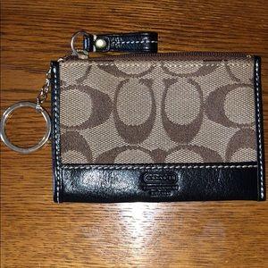 Coach wallet/coin purse